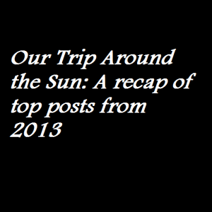 Our Trip Around the Sun A recap of top posts from 2013