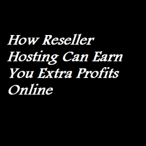 How Reseller Hosting Can Earn You Extra Profits Online
