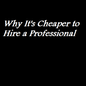 Why It's Cheaper to Hire a Professional